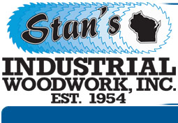 Stan's Industrial Woodwork – Stakes, Lath, Reels and Skids Logo